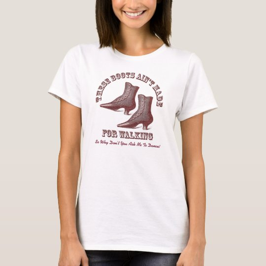 Ask Me to Dance - Ballroom, Country Western T-Shirt