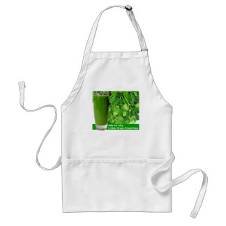 Ask me why_drink Green Smoothies Standard Apron
