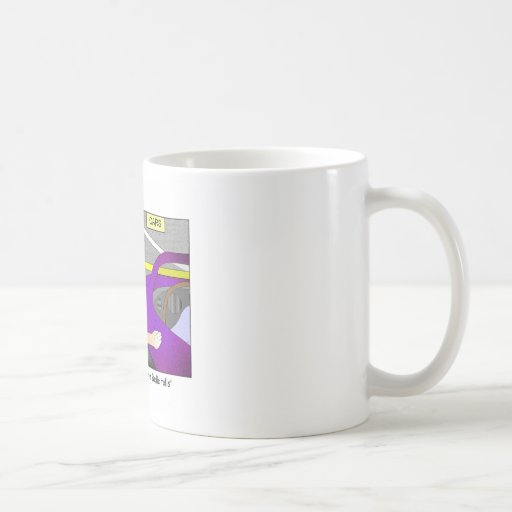 Ask Nor for Whom the Belle Tolls Cartoon Mug