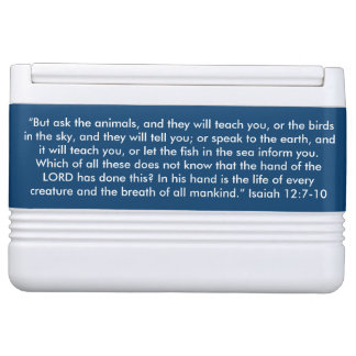 """Ask the Animals"" Igloo Scripture 12 can Cooler Igloo Cooler"