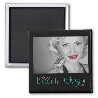 Ask The beauty Advisor Magnet