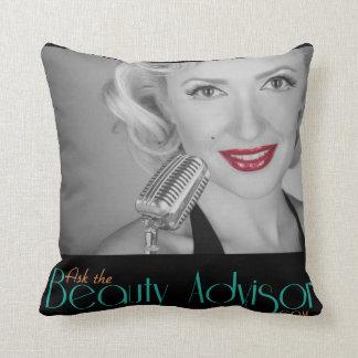 Ask The Beauty Advisor Pillow Cushion