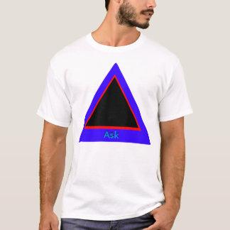 Ask - ! UCreate Ask jGibney Zazzle T-Shirt