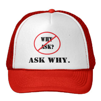 Ask Why. Cap