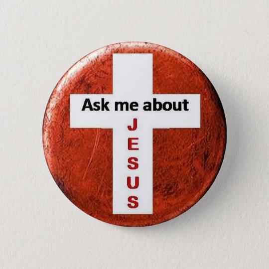 askme2.O 6 Cm Round Badge