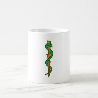 Äskulap staff Asclepius staff Mugs