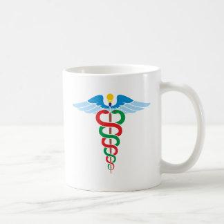 Äskulap staff Asclepius staff Mug
