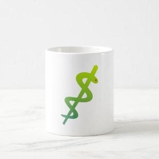 Äskulap staff Asclepius staff Coffee Mug