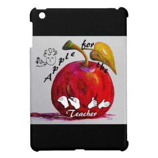 ASL Apple for the Teacher Cover For The iPad Mini