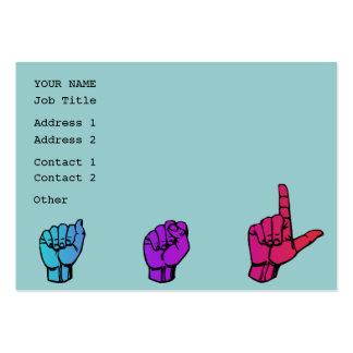 ASL Business  Profile Card Business Card