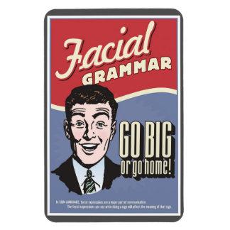 ASL Facial Grammar magnet Rectangular Photo Magnet