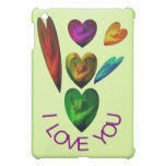 ASL Hand Sign-I Love You Hearts Cover For The iPad Mini