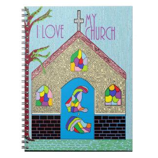 ASL I Love my Church Notebooks