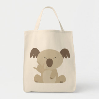 ASL I Love You Koala Bag