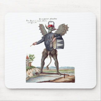 Asmodai, Demon of Wrath Mouse Pad