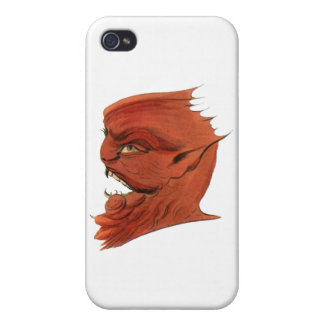 Asmodeus Vintage Demon Cases For iPhone 4