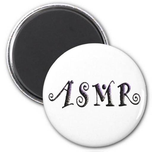 ASMR 3D Text Refrigerator Magnet
