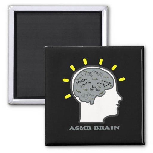 ASMR Brain Refrigerator Magnets