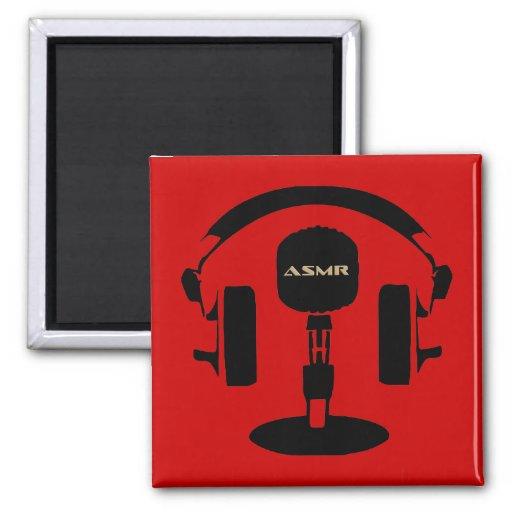 ASMR Logo Fridge Magnet