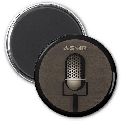 ASMR Retro Microphone Refrigerator Magnets