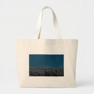 Aso Star Night Volcano Japan Large Tote Bag