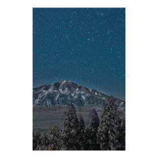 Aso Star Night Volcano Japan Stationery Paper