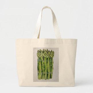 Asparagus 2013 large tote bag