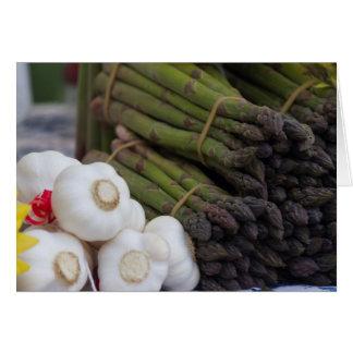 asparagus and onion card