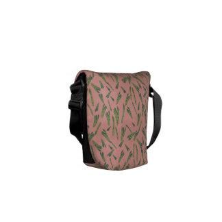 Asparagus Courier Bag