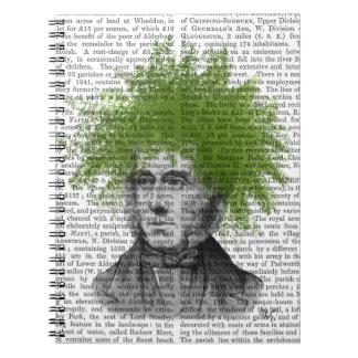Asparagus Fern Head Plant Head Notebook