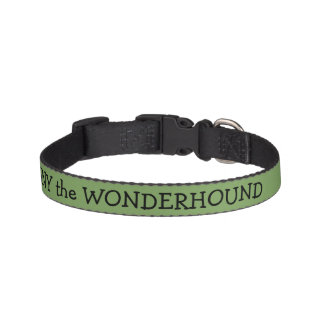 Asparagus Green Dog Collar Personalized