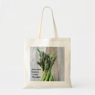 Asparagus Inspires Gentle Thoughts Tote Bag