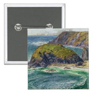 Asparagus Island 15 Cm Square Badge