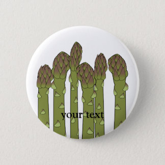 Asparagus Spears Vegetable Lover Veggies 6 Cm Round Badge