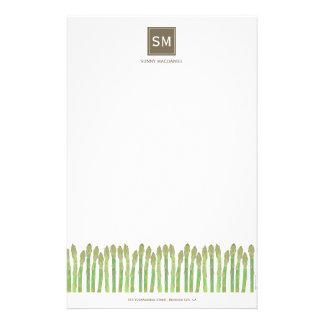 Asparagus Stationery