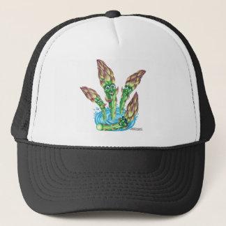 asparagus trucker hat