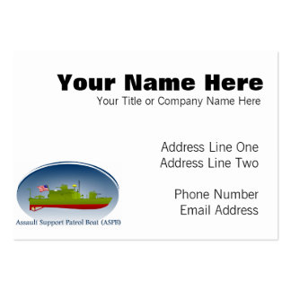ASPB PACK OF CHUBBY BUSINESS CARDS