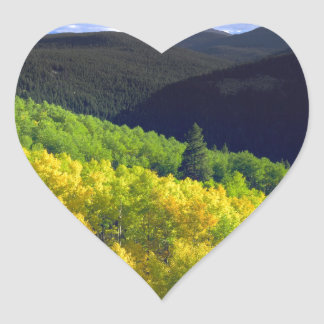 Aspen 9 heart sticker