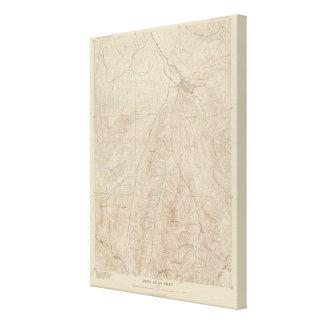 Aspen Atlas Sheet Canvas Print
