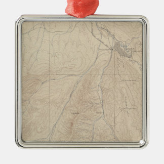 Aspen Atlas Sheet Christmas Ornament