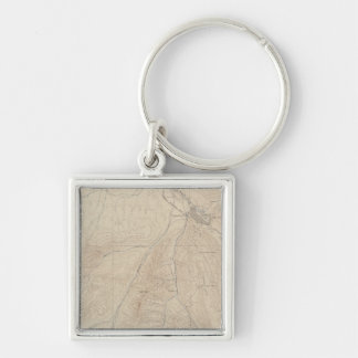 Aspen Atlas Sheet Key Ring