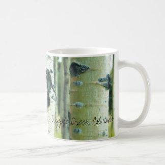 Aspen Bark, Cripple Creek, Colorado Coffee Mugs