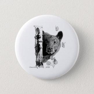 Aspen Bear 6 Cm Round Badge
