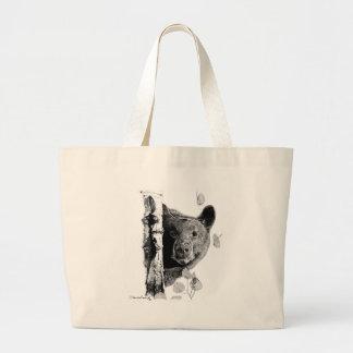 Aspen Bear Large Tote Bag