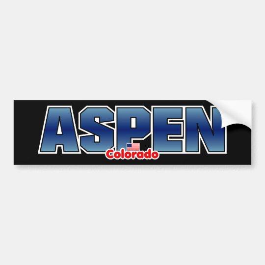 Aspen Bumper Bumper Sticker