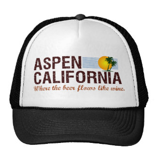 Aspen California Mesh Hats