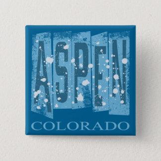 ASPEN, COLORADO 15 CM SQUARE BADGE