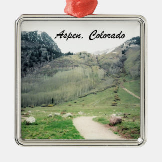 Aspen, Colorado Christmas Ornament