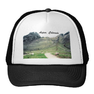 Aspen, Colorado Mesh Hats