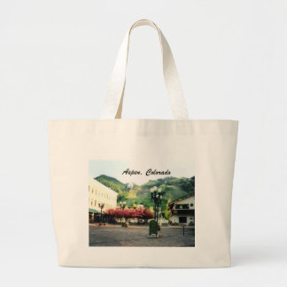 Aspen, Colorado Large Tote Bag